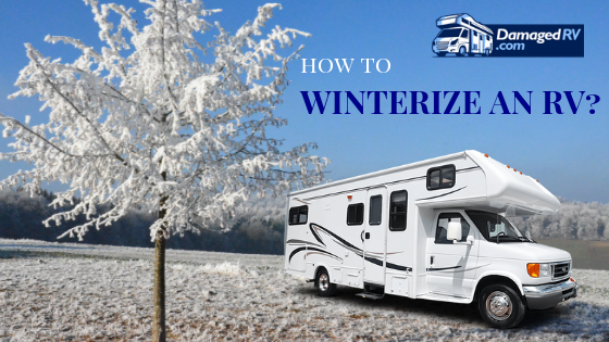 How to Winterize an RV?